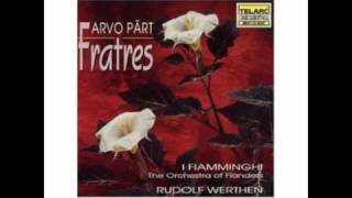 Arvo Pärt - Fratres (for wind octet and percussion)