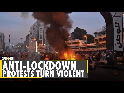 Security forces clash with anti-lockdown protesters in Lebanon's Tripoli | World News | WION News