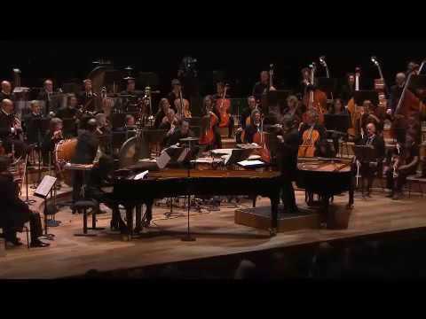 Bartok concerto for two pianos percussion and orchestra. Labèque / Salonen 2