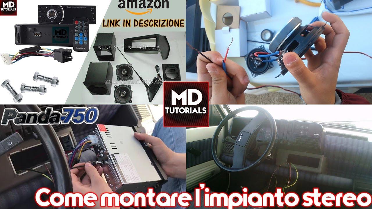 Come Montare Stereo Autoradio Su Fiat Panda 750 Modeer Tutorials