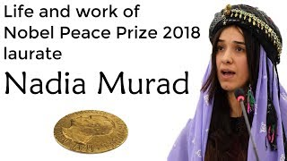 Nobel Peace Prize laureate 2018 Nadia Murad, Efforts to end sexual violence as a weapon in war