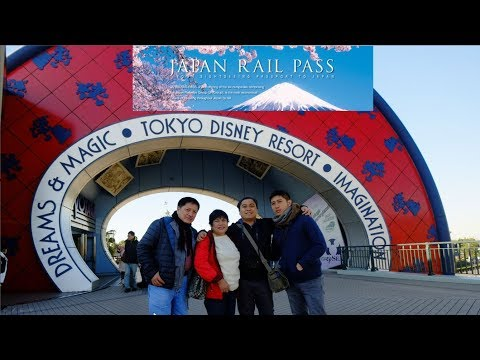 Tour of Tokyo Disney Resort Using JR Pass