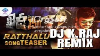 Khaidi No 150 Ratthalu REMIX DJ K.RAJ