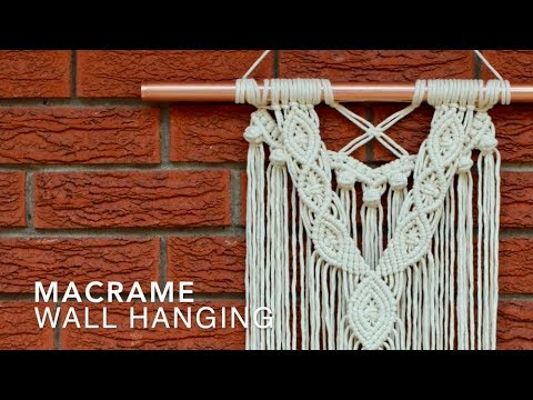 Diy Macrame Wall Hanging Beginners Advanced Makers