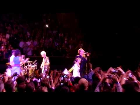 U2 Live LA Forum 5-31-15 Angel Of Harlem & When Loves Comes To Town