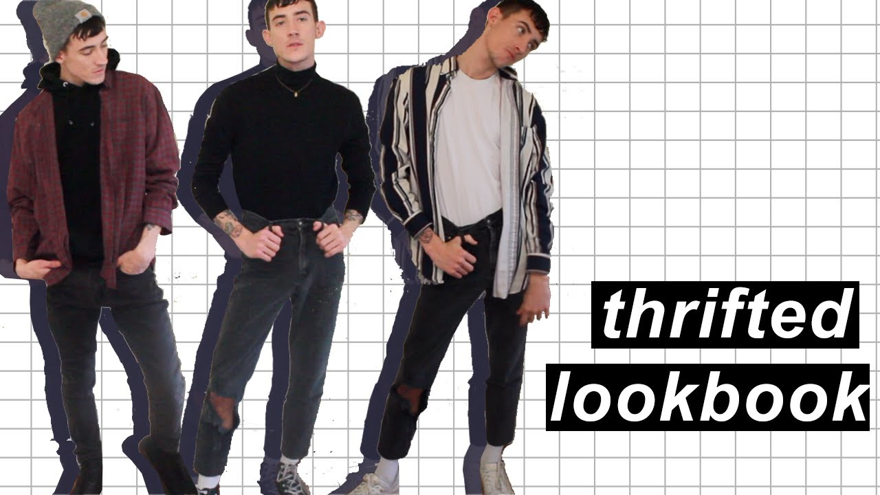 [VIDEO] - 5 FALL OUTFIT IDEAS | Thrifted Lookbook 1