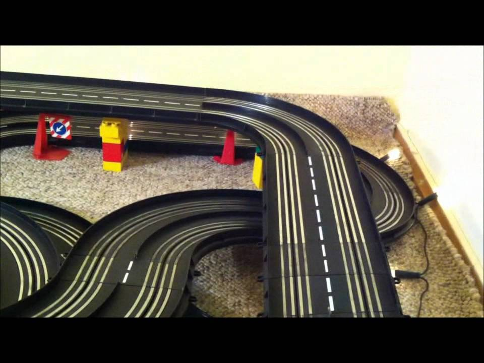 carrera servo 140 audi a4 dtm race car track video youtube. Black Bedroom Furniture Sets. Home Design Ideas