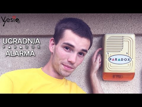 Kako ugraditi Paradox alarmni sistem