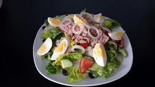 Королевский салат с тунцом!Изысканный вкус!#салат#тунец#как#рецепт
