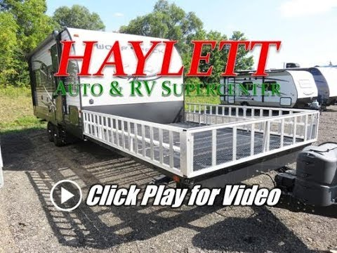 HaylettRV - 2016 Wolf Pack 20Pack10 Used Open Front Deck Toy Hauler Travel Trailer