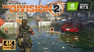 The Division 2 - Beta Gameplay - Ultra Settings 4K | 2080 Ti