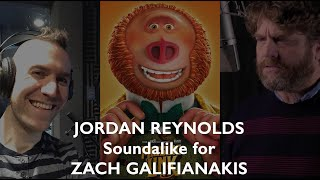 Soundalike for Zach Galifianakis