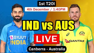 IND vs AUS 1st T20I LIVE from Oval | India vs Australia Live Cricket Scorecard | TAMIL Commentary
