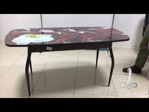 """Раздвижной стол """"Премиум"""" Кузнецкой мебельной компании Classen Mebel"""