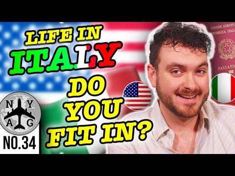 American Living in Italy - Fitting In (Jure Sanguinis Italian Dual Citizenship)