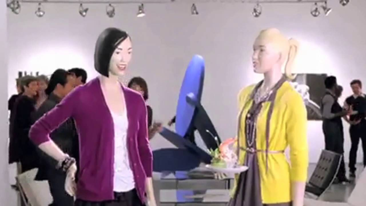 CLASSIC Old Navy Commercial - Supermodelquins in the City - YouTube