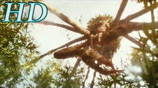 Конг: Остров черепа (4/10). Гигантский паук. 2017 | HD | Фильмарезка.