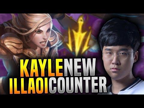 SKT T1 Untara Picks Kayle Top With Lethal Tempo To Counter Illaoi! - Untara Plays Kayle Top!