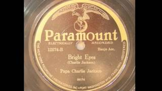 Papa Charlie Jackson - Bright Eyes (1927)
