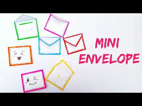 Cute Mini Envelopes Making / Easy Mini Envelopes / Handmade Envelopes Making / Envelopes Making