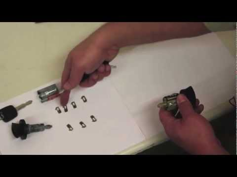 Recoding a new ignition lock cylinder