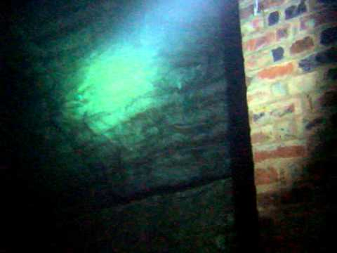diving in a limestone mine
