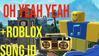 Maximilian-Oh Yeah Yeah (Roblox edition) + Roblox song id