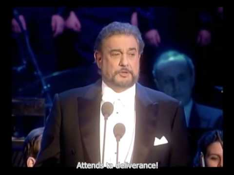 Placido Domingo & Luciano Pavarotti, O Holy Night in 1999
