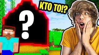 NIE UWIERZYSZ KTO MIESZKA W TYM DOMU!   Minecraft XD