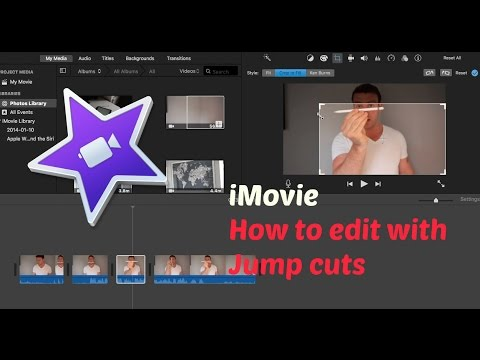 How to add jump cuts and zoom in cuts - iMovie for Mac