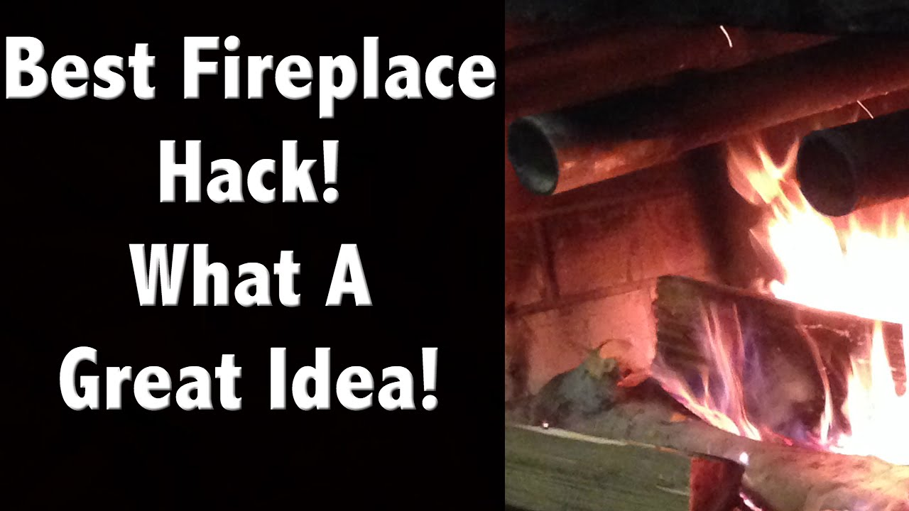 This Fireplace Hack Can Save You On Heating Bills This