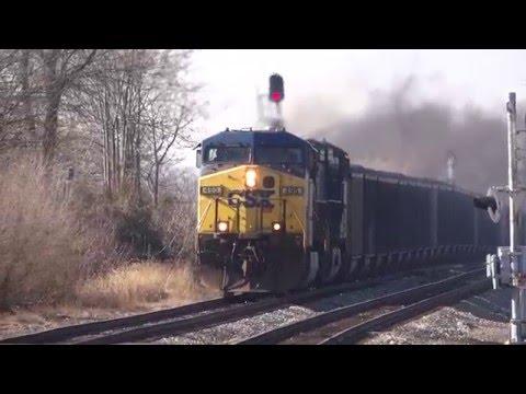 CSX U883 Full Coal Train
