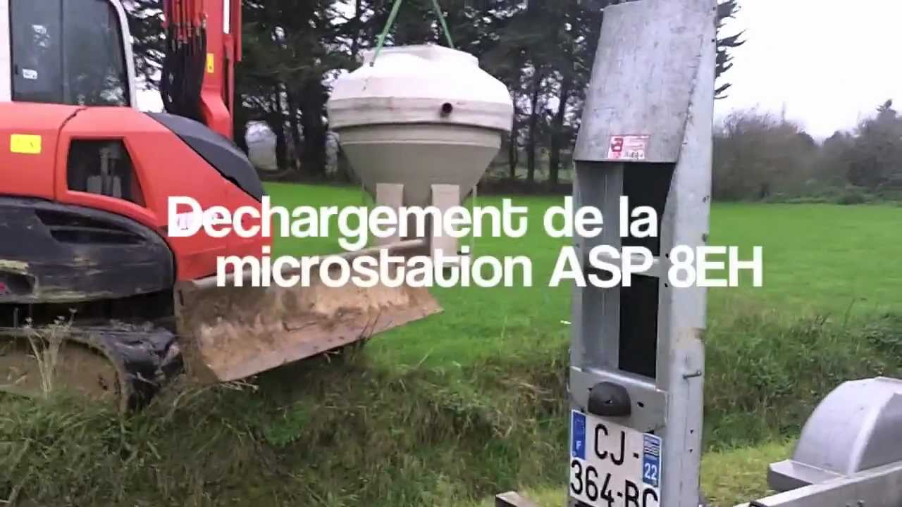 conder clereflo asp 8eh micro station d 39 epuration france innoveau hd youtube