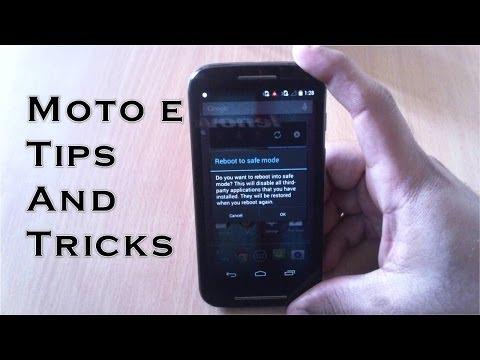 Moto E Tips and Tricks