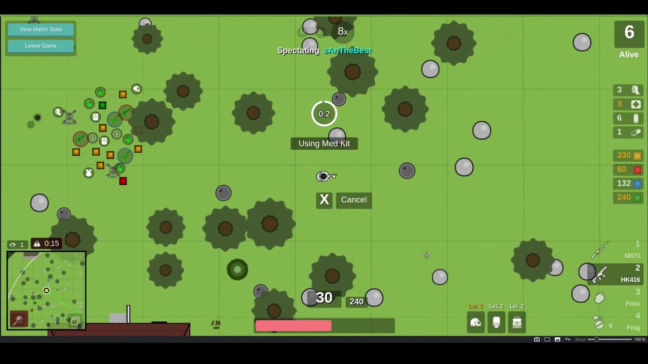 Surviv Io 2d Battle Royale Gameplay Review An Absolute Blast