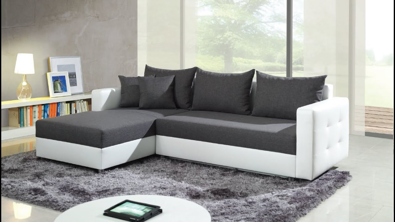 long corner sofa bed usa made leather sofas youtube