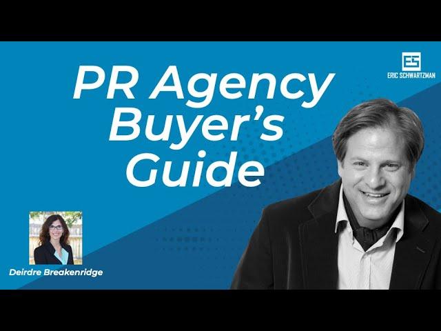 2020 PR Agency Buyers Guide with Deirdre Breakenridge