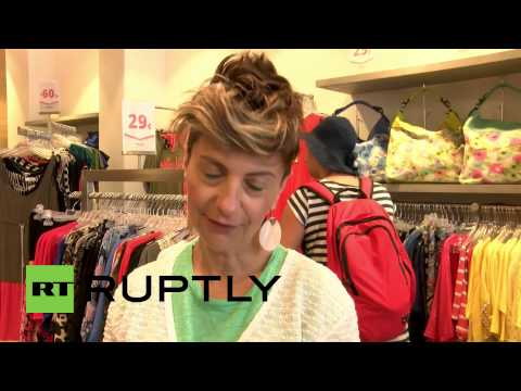 Greece: Crisis? Athens summer sales apparently untouched by debt crisis