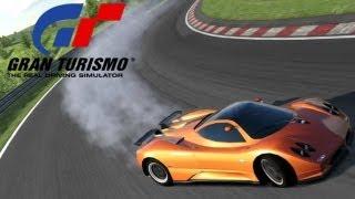 Gran Turismo 5 Shuffle Race With Subscribers - Pagani Zonda at Monza