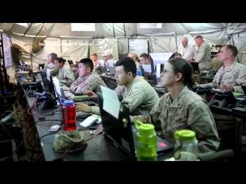 Marine Corps conducts cyber warfare exercises