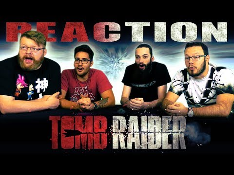 TOMB RAIDER - Official Trailer #1 REACTION!!