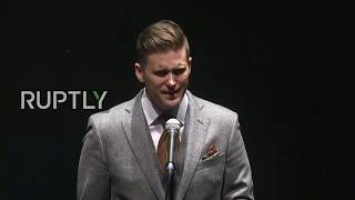 LIVE: Alt-right's figure Richard Spencer met with protests at University of Florida