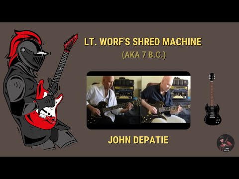 Lt. Worf's Shred Machine