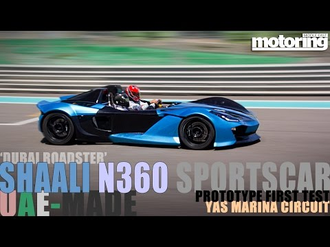 UAE-made 'Dubai Roadster' Shaali N360 prototype RUNS!