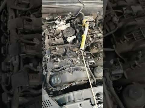 Audi a4 b8 замена помпы