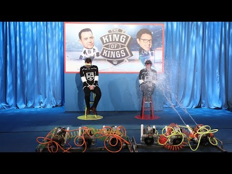 Colin Hanks and Andy FaceOff in L.A. Kings Trivia