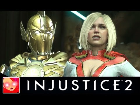Injustice 2 - Doctor Fate Vs The Girls Interaction/Intro Dialogues