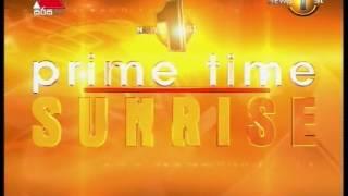 News1st Prime Time News Sunrise Sirasa TV 21st March 2017