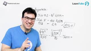 Přijímačky na střední školy 2 - Desetinná čísla a Mocniny + Odmocniny