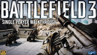 Battlefield 3 Single Player Walkthrough - Full Game 4K 60FPS